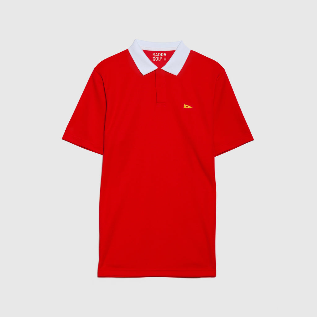 RADDA GOLF NORMAN POLO (CHILLI RED)