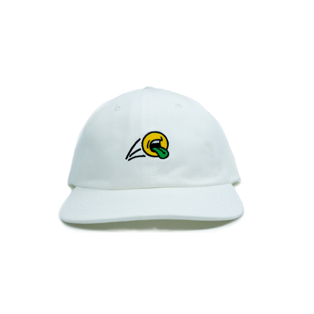 SCREAMIN BALL DAD HAT (WHITE)