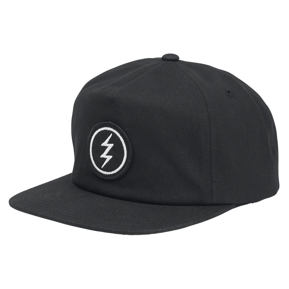 ELECTRIC VOLT PATCH HAT - BLACK