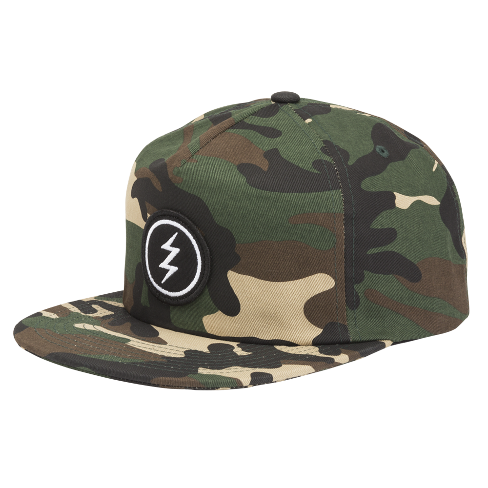 ELECTRIC VOLT PATCH HAT - CAMO