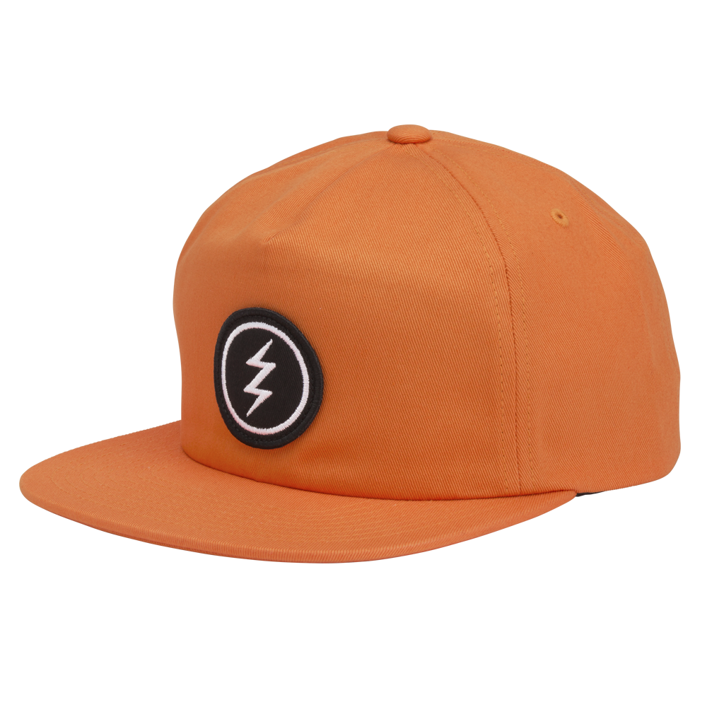 ELECTRIC VOLT PATCH HAT - ORANGE