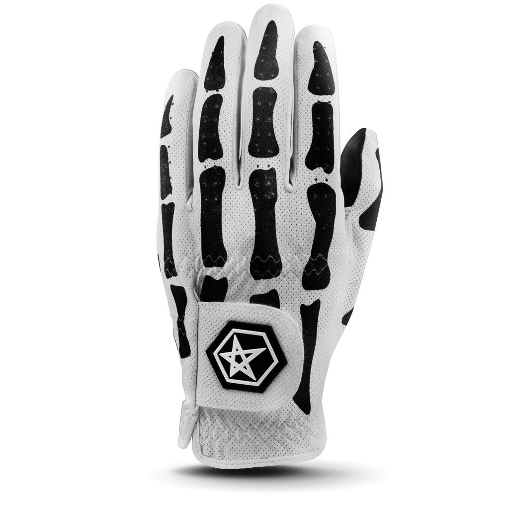ASHER GOLF DEATHGRIP GLOVE - WHITE