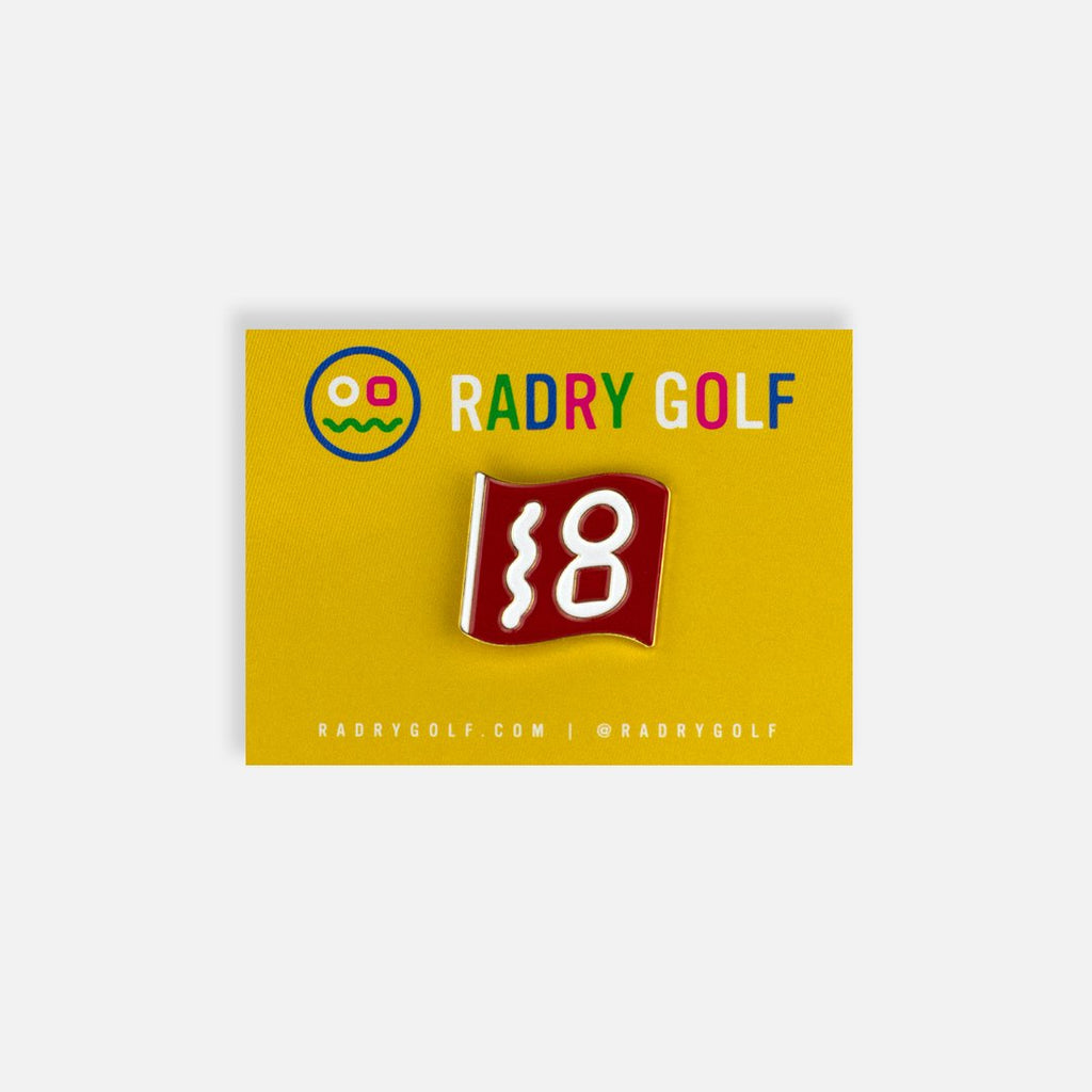 RADRY GOLF FLAG PIN