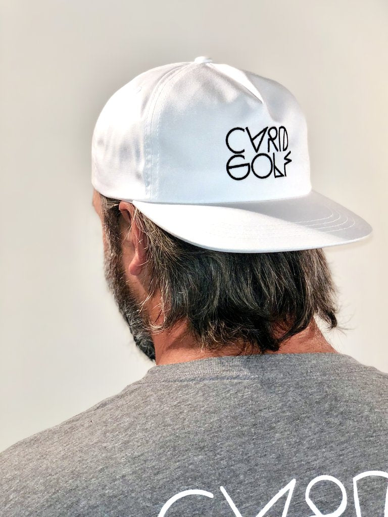 CVRD GOLF WIRE LOGO HAT - WHITE