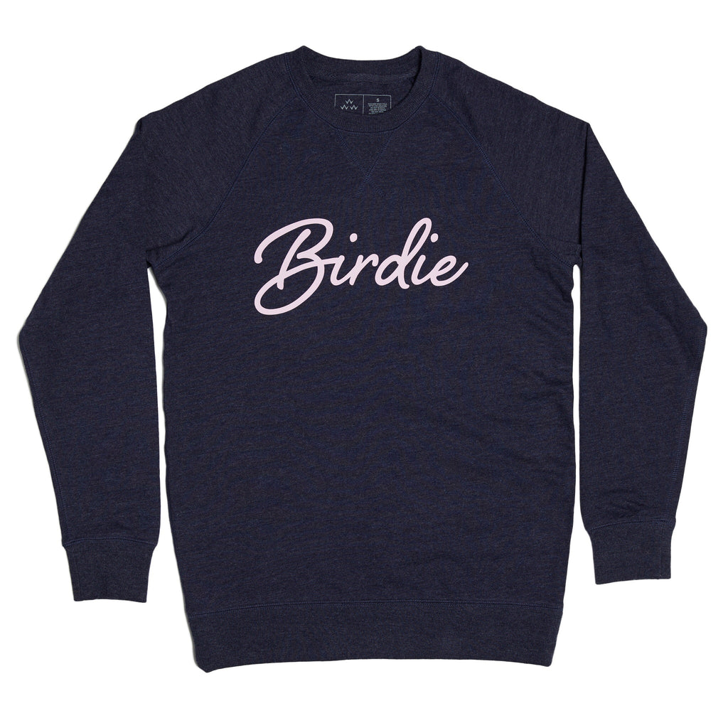 BIRDS OF CONDOR BIRDIE CREW SWEATSHIRT (NAVY MARLE)