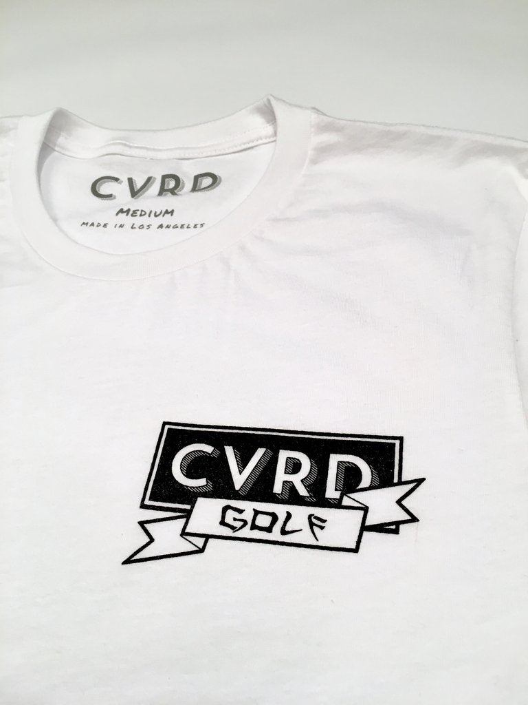 CVRD GOLF - GOOD LUCK OUT THERE TEE - WHITE