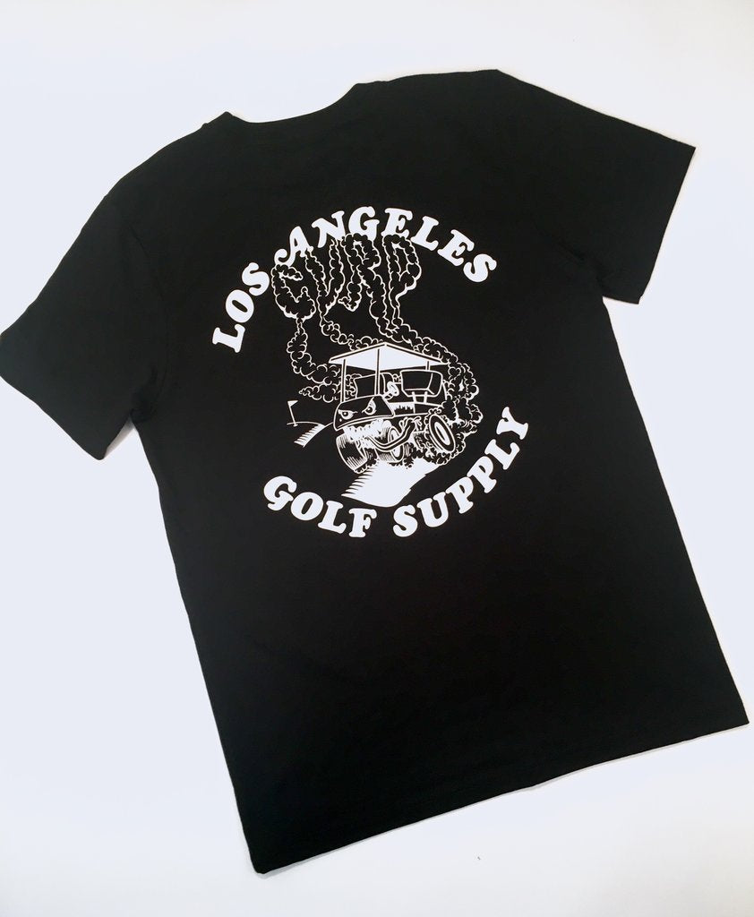CVRD GOLF - THE GARAGE TEE - BLACK