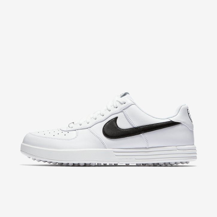 NIKE LUNAR AIR FORCE 1 G (WHITE/BLACK)