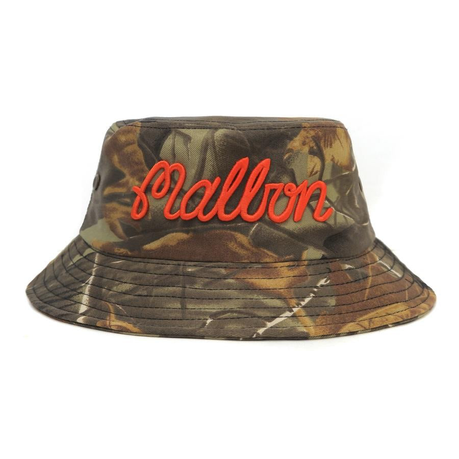 MALBON GOLF 'REAL TREE' CAMO BUCKET HAT