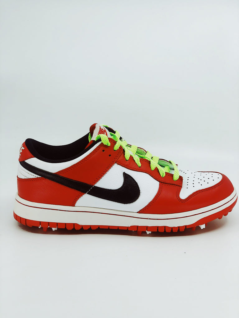 NIKE DUNK GOLF SHOES (2013) - red/white