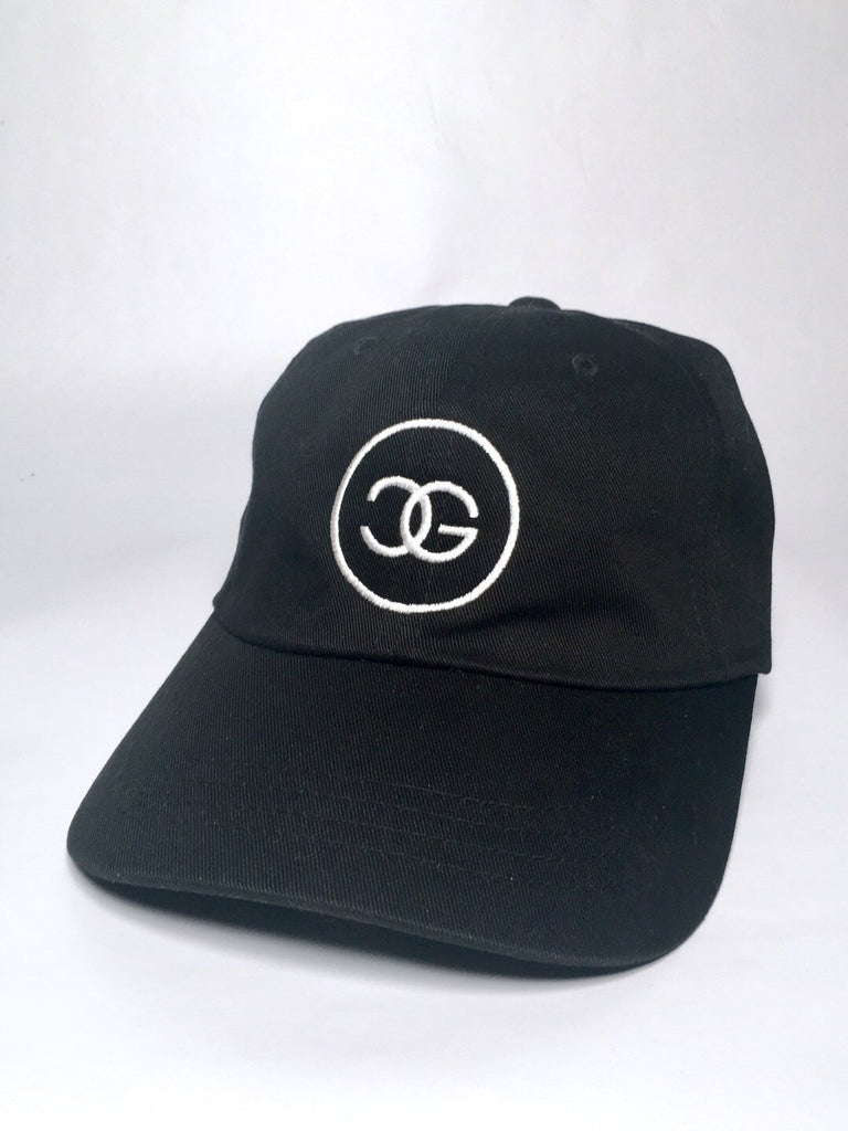 CVRD GOLF FANCY LOGO DAD HAT - BLACK