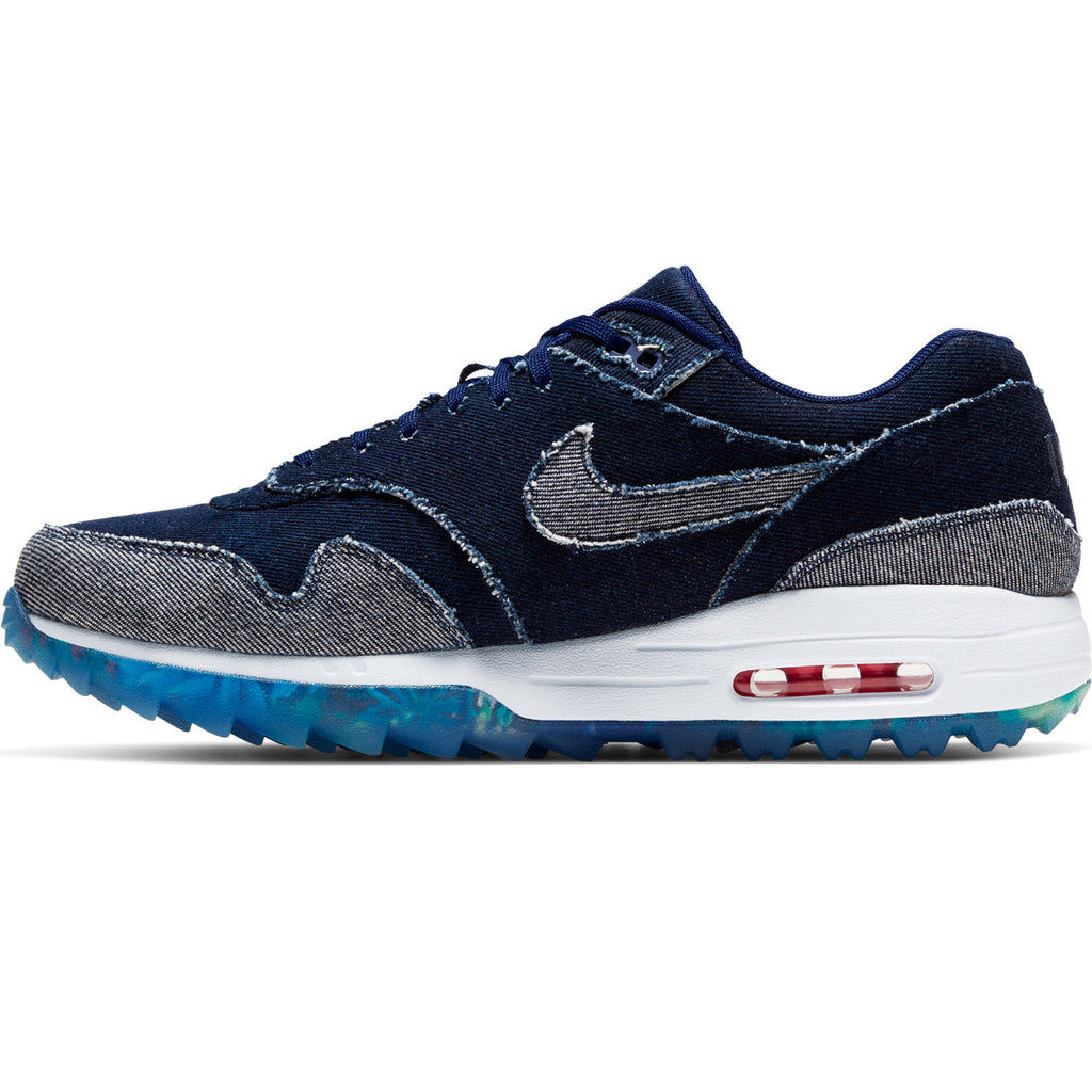NIKE AIR MAX 1G NRG DENIM BLUE VOID / THUNDERSTORM / HYPER PINK - 2019