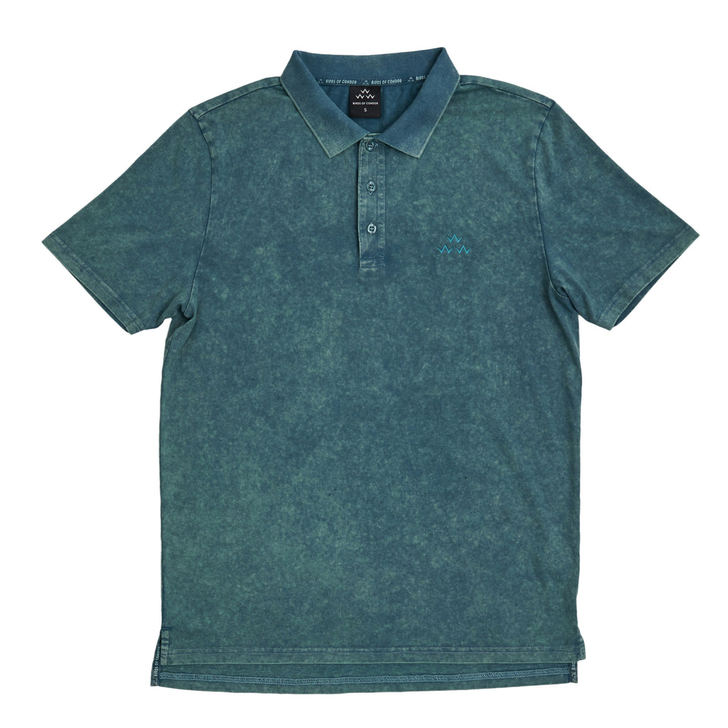 BIRDS OF CONDOR TRIPLE EAGLE POLO (GREEN)