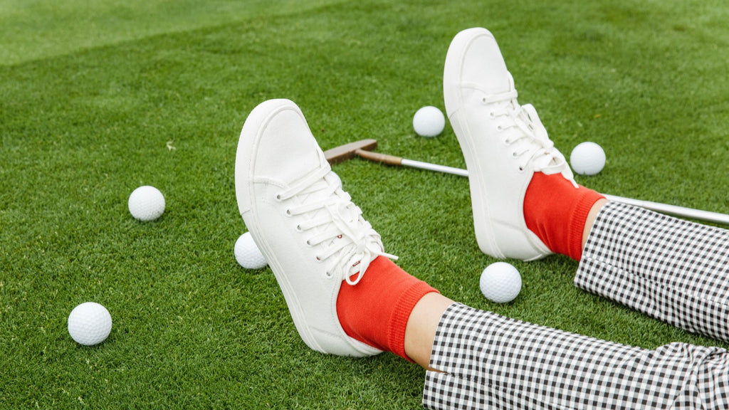 TOMO GOLF VOLUME 2 MENS SHOES (IVORY WHITE)