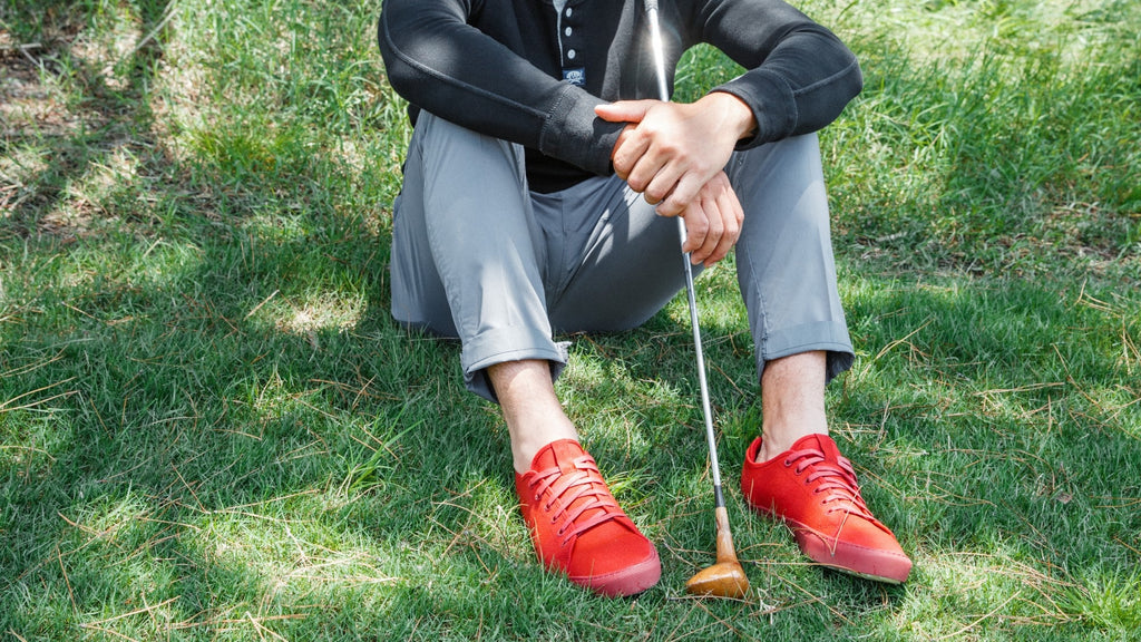 TOMO GOLF VOLUME 2 MENS SHOES (GOOD LUCK RED)
