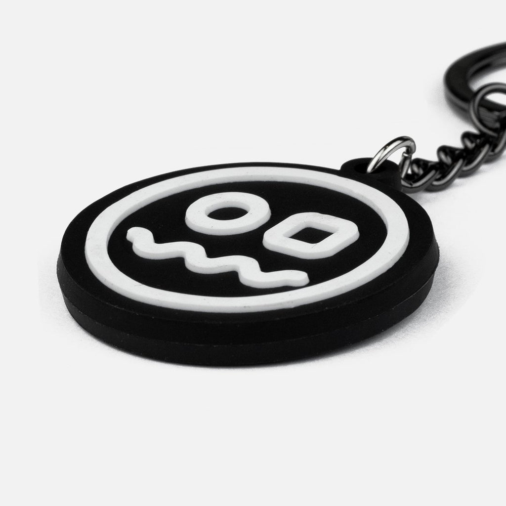 Radry Golf Smiley Keychain
