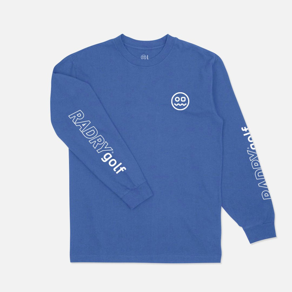 RADRY GOLF SAUCE LONG SLEEVE (BLUE)