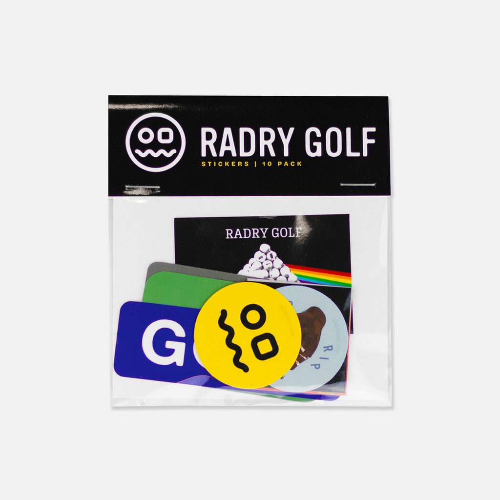 RADRY GOLF STICKER PACK
