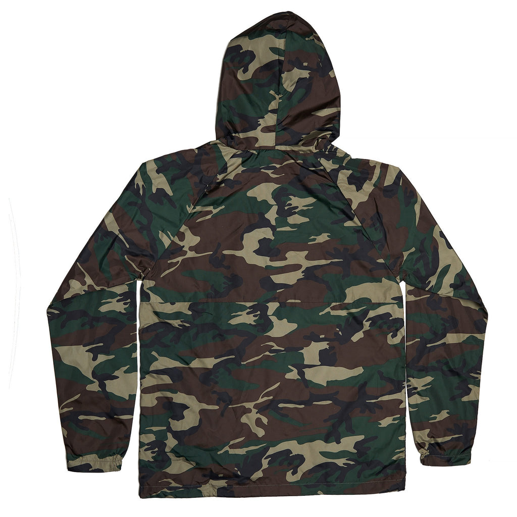 BIRDS OF CONDOR BREEZY CAMO HOODED JACKET