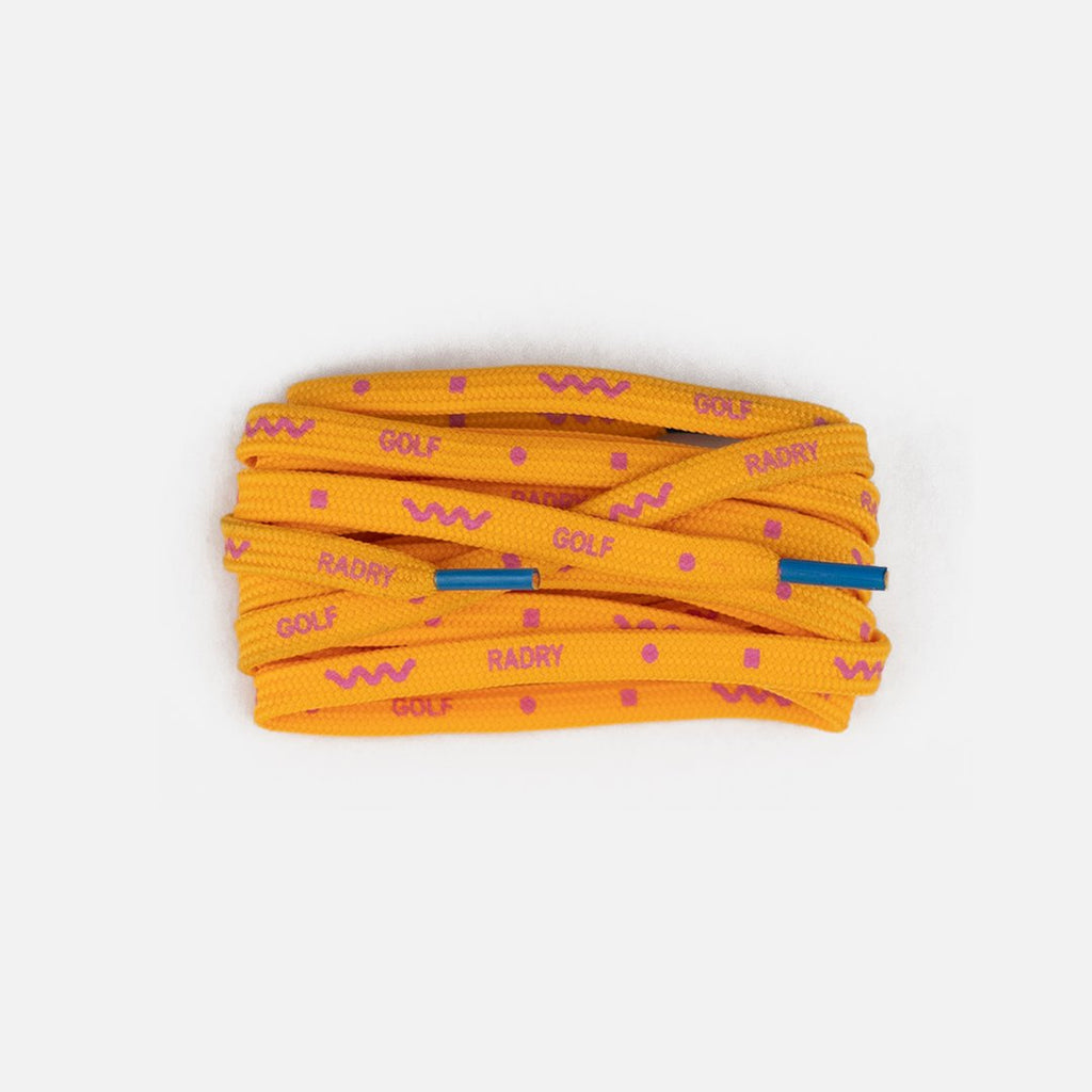 RADRY GOLF WAVY SHOELACES (YELLOW)