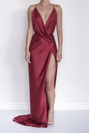 Judy Gao Couture Bella Wrap Dress