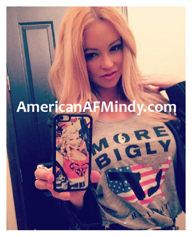 Mindy Robinson wears More Bigly Apparel