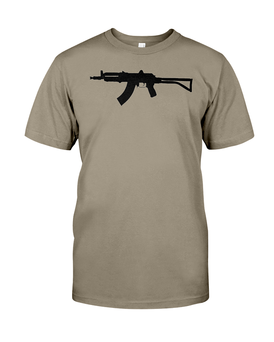 AK Black Rifle t-shirt men's MORE BIGLY