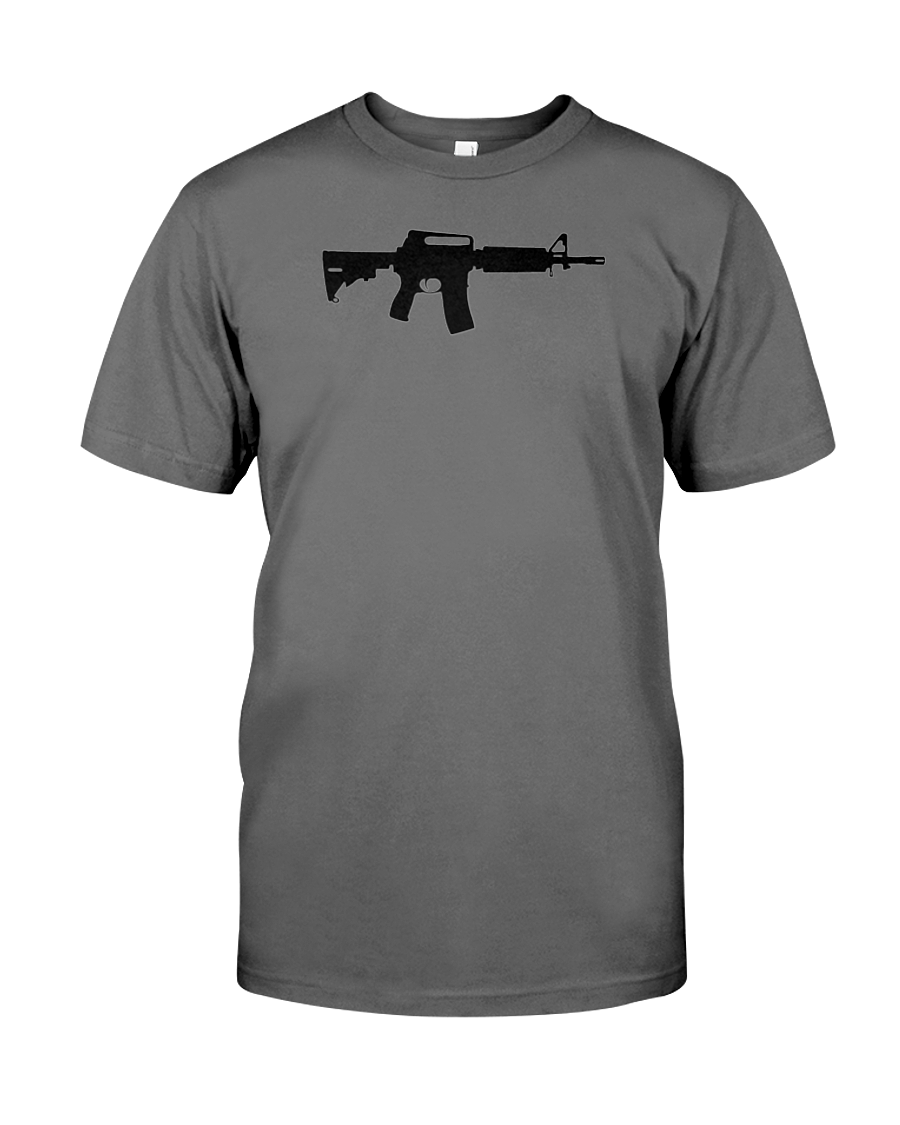 AR-15 t-shirts and black rifle t-shirts MORE BIGLY than any other 2nd Amendment gun t-shirts!