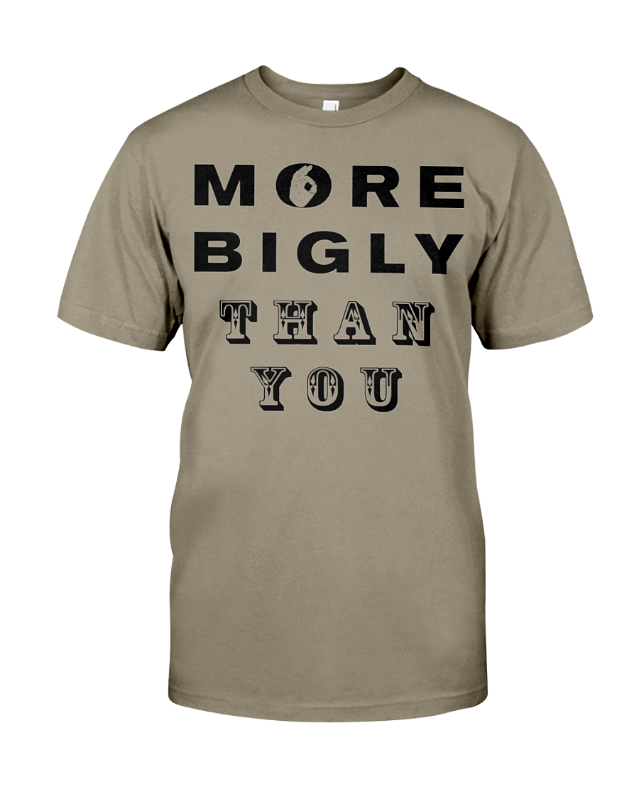 More Bigly Than You men's t-shirt safari