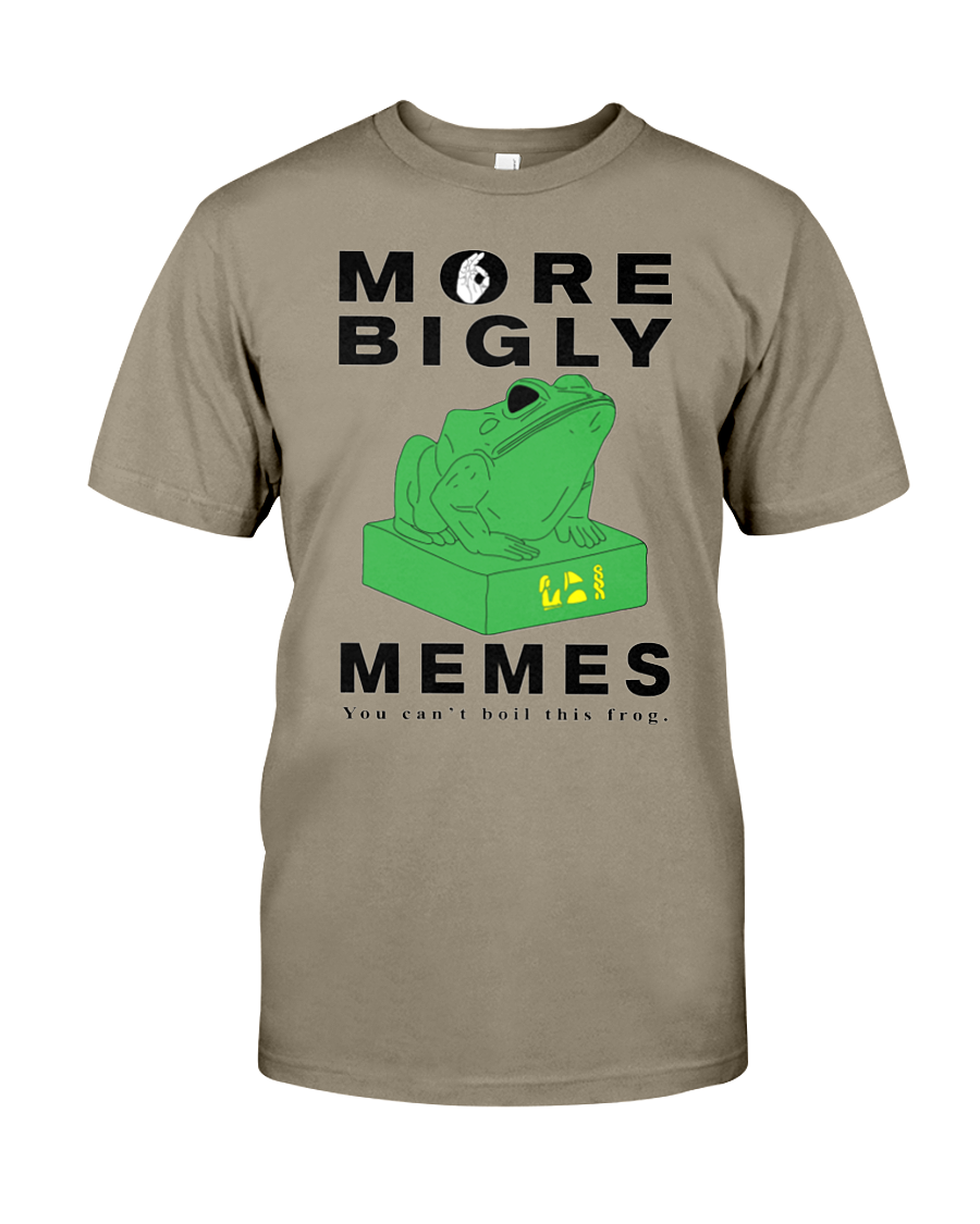 Kek Memes men's t-shirt More Bigly safari