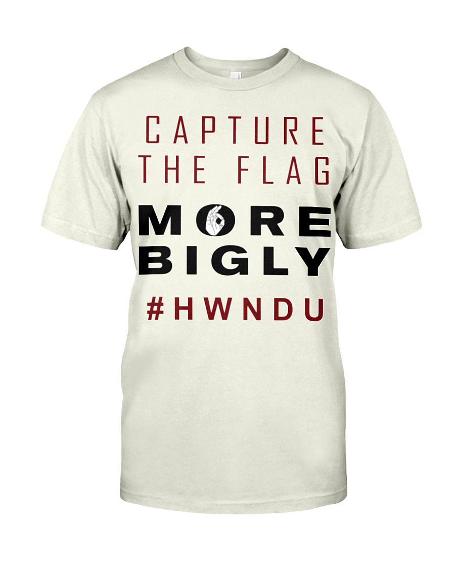 HWNDU Capture the Flag men's t-shirt natural