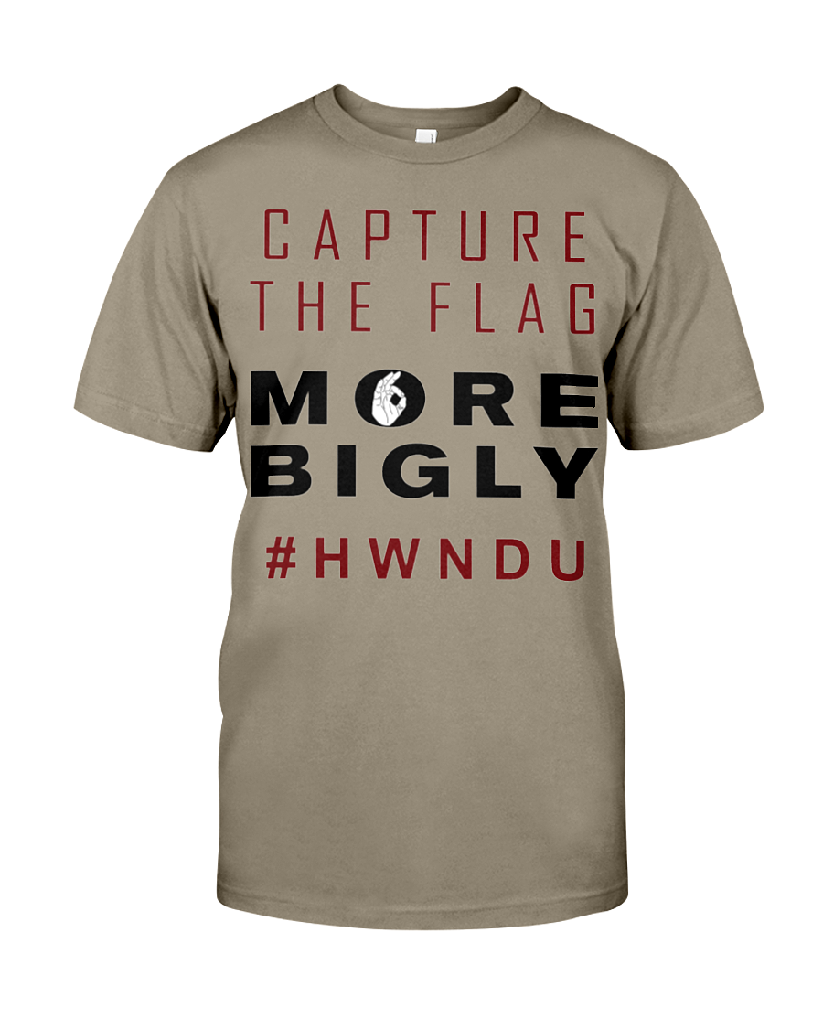 HWNDU Capture the Flag men's t-shirt safari