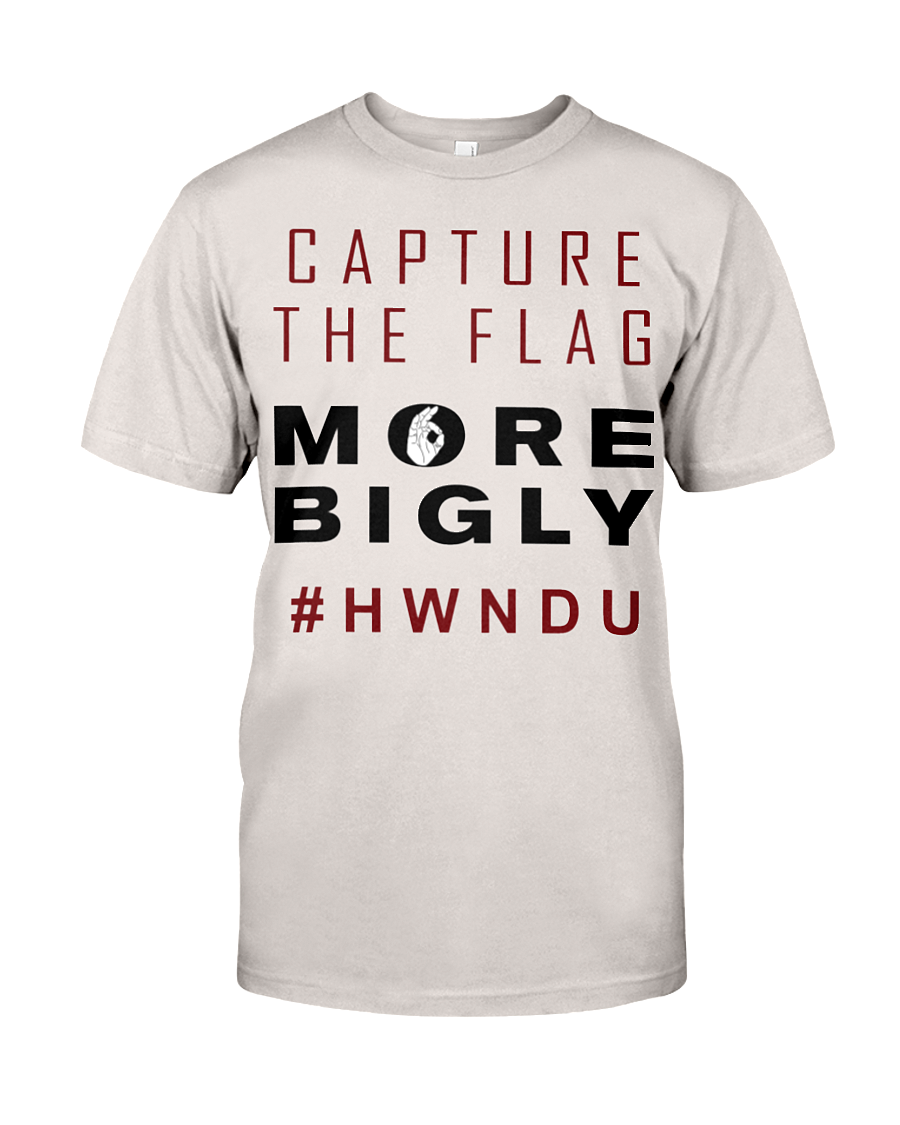 HWNDU Capture the Flag men's t-shirt silver