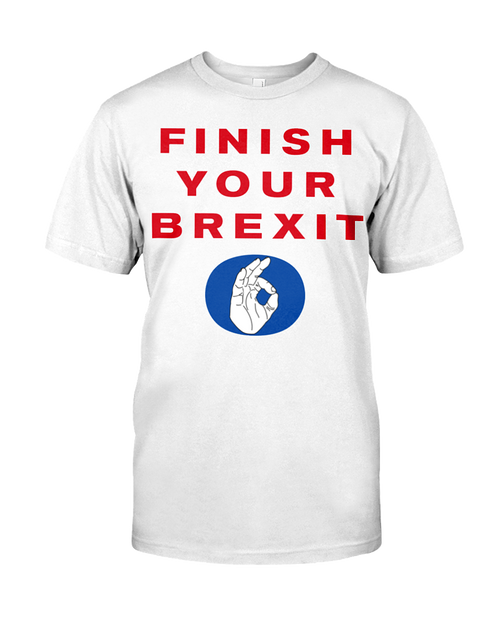Finish Your Brexit men's t-shirt
