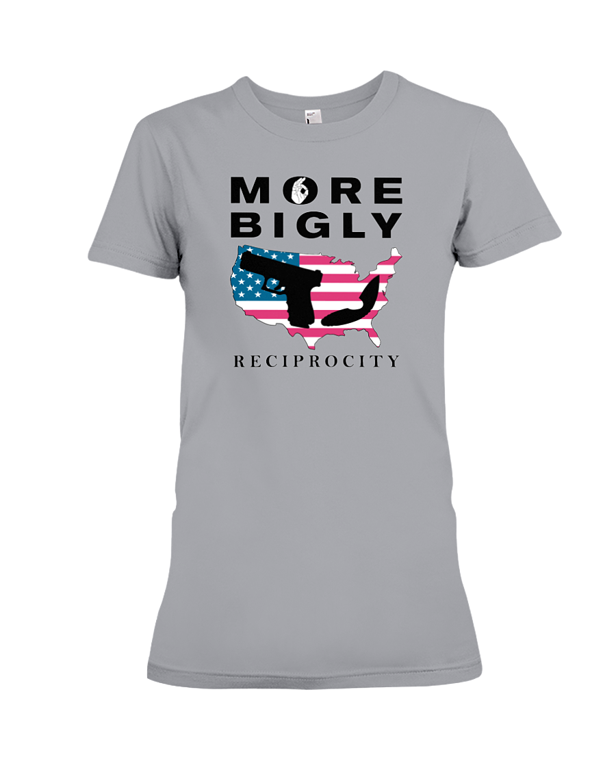 Concealed Carry Reciprocity women's t-shirt light grey