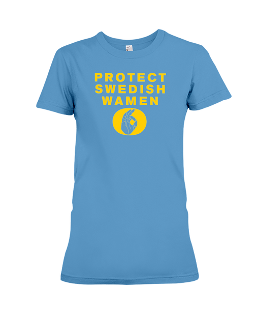 Protect Swedish Wamen women's t-shirt