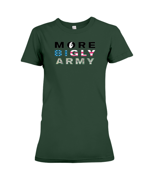 Military Army women's t-shirt