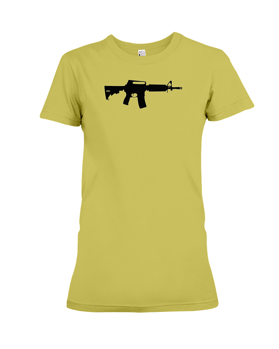 AR Black Rifle women's t-shirt daisy