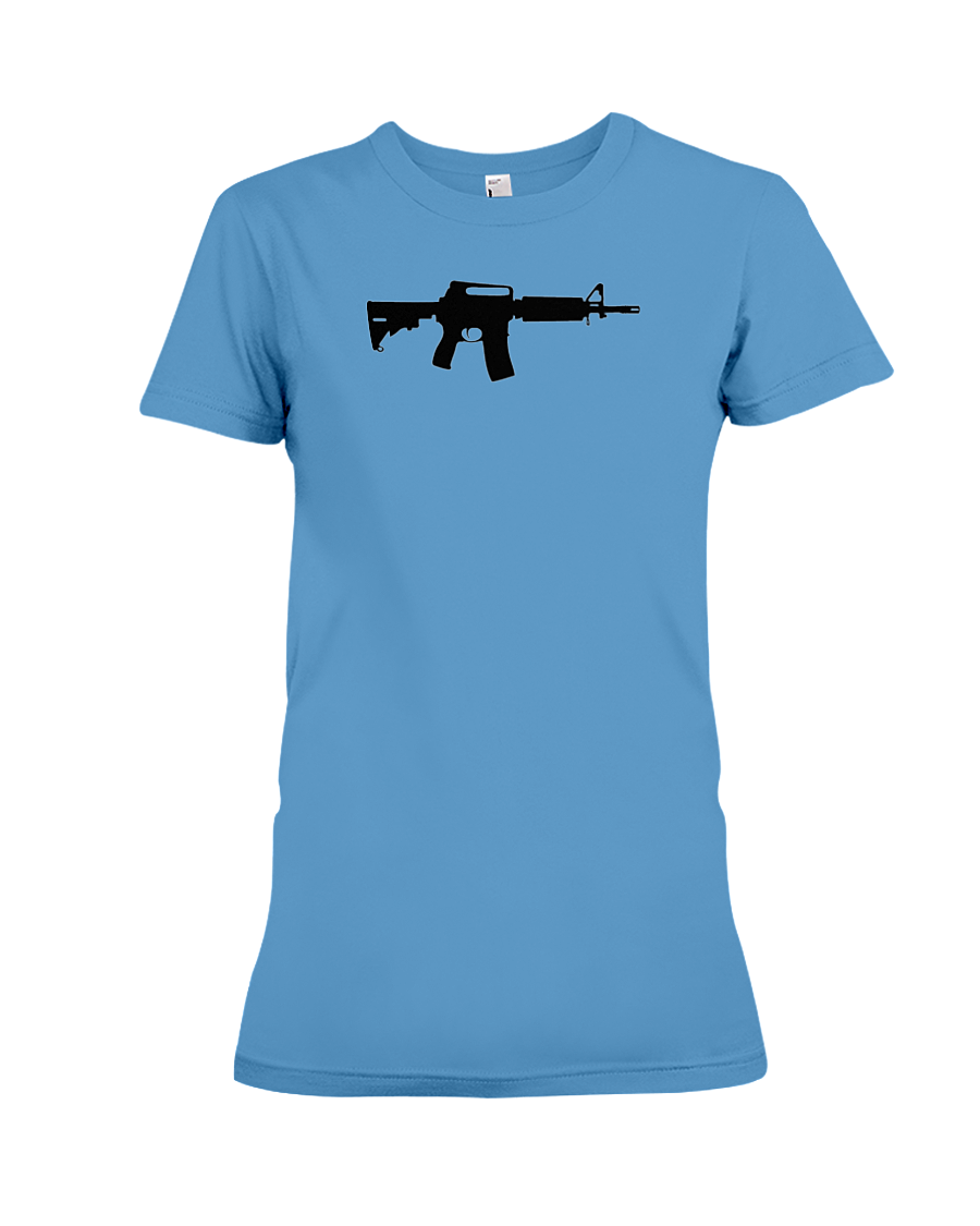 AR Black Rifle women's t-shirt iris
