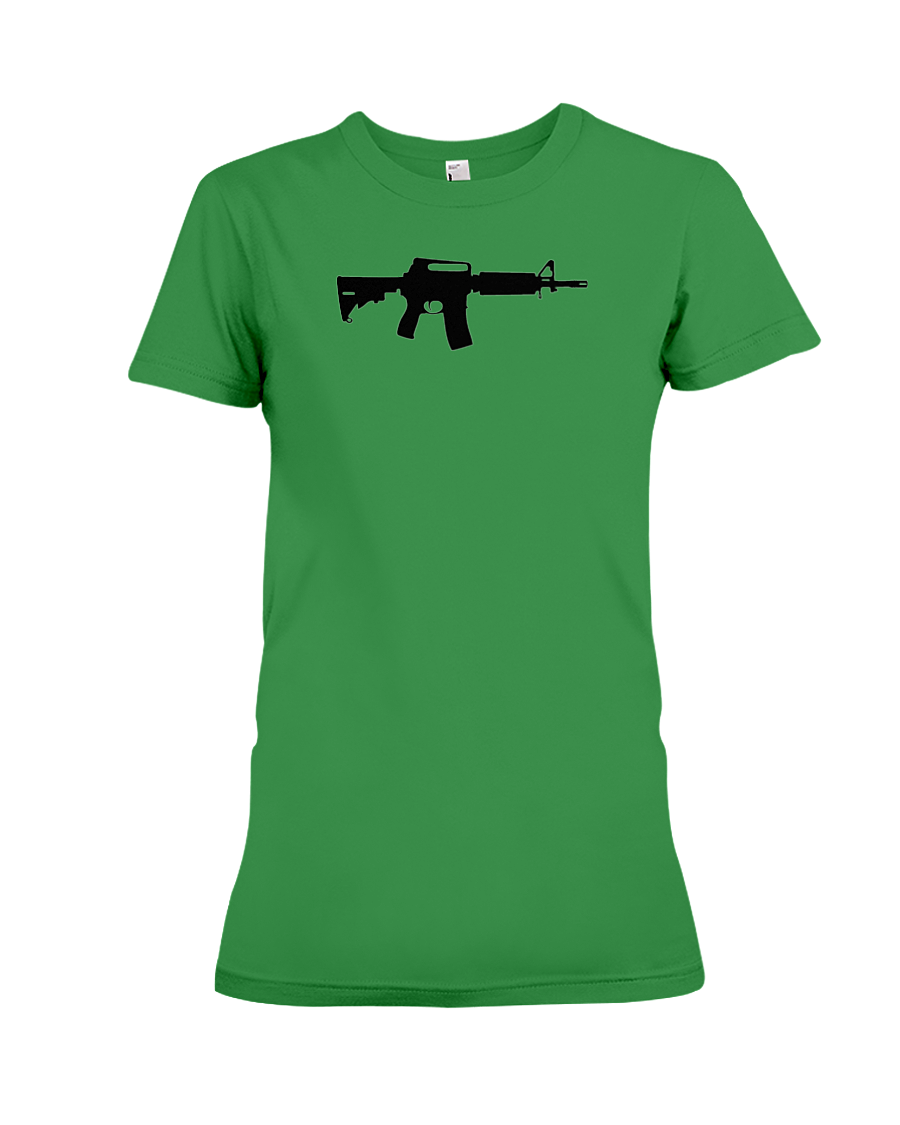 AR Black Rifle women's t-shirt green