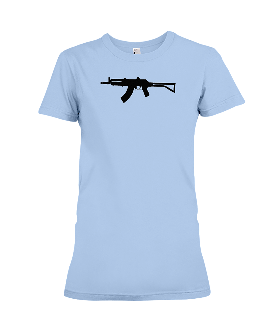 AK Black Rifle women's t-shirt light blue