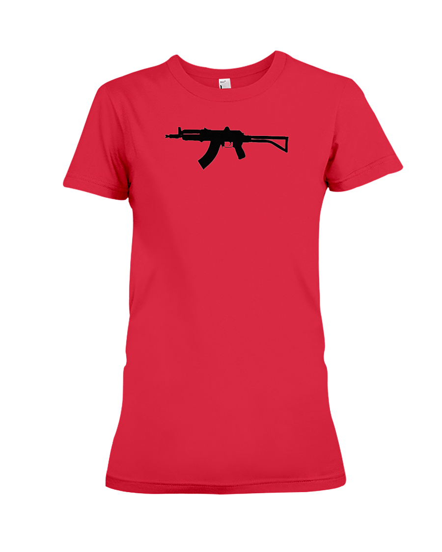 AK Black Rifle women's t-shirt red