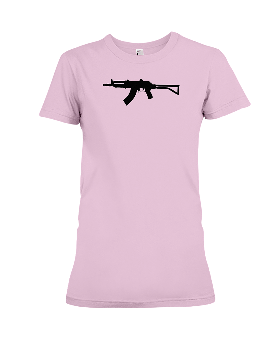 AK Black Rifle women's t-shirt pink
