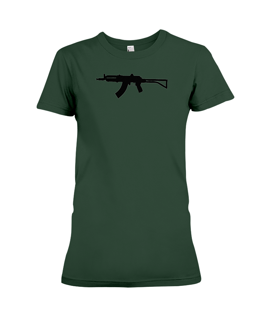 AK Black Rifle women's t-shirt forest green
