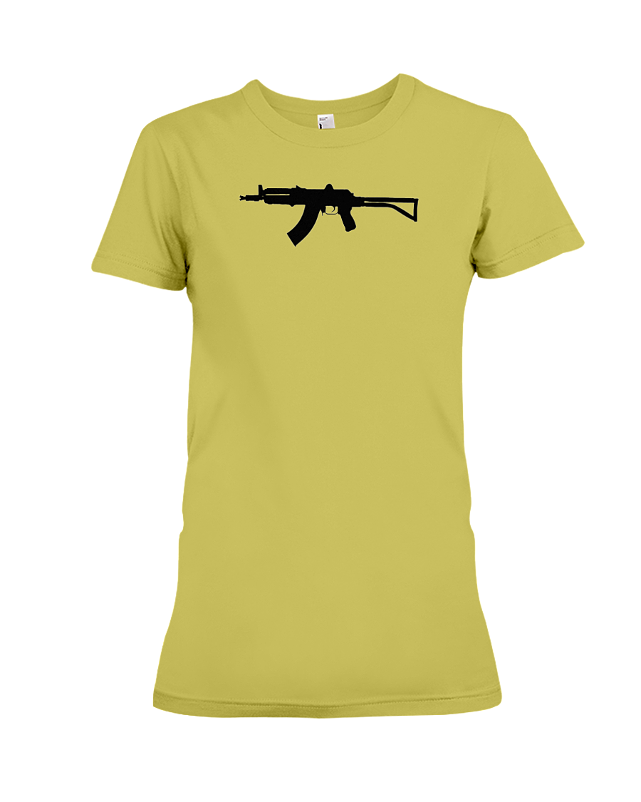 AK Black Rifle women's t-shirt daisy