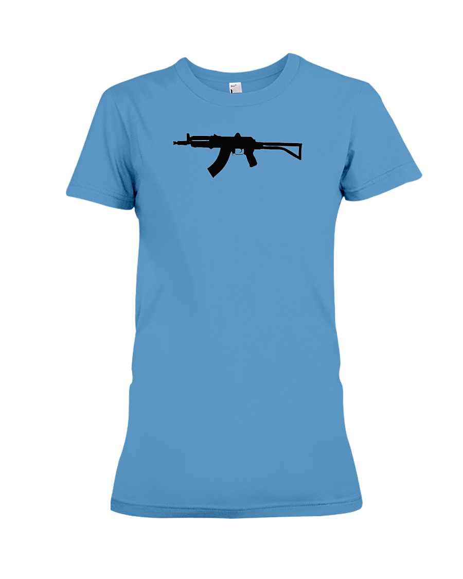 AK Black Rifle women's t-shirt iris