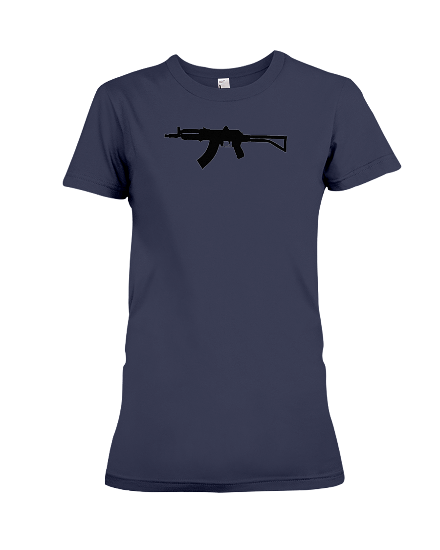 AK Black Rifle women's t-shirt navy