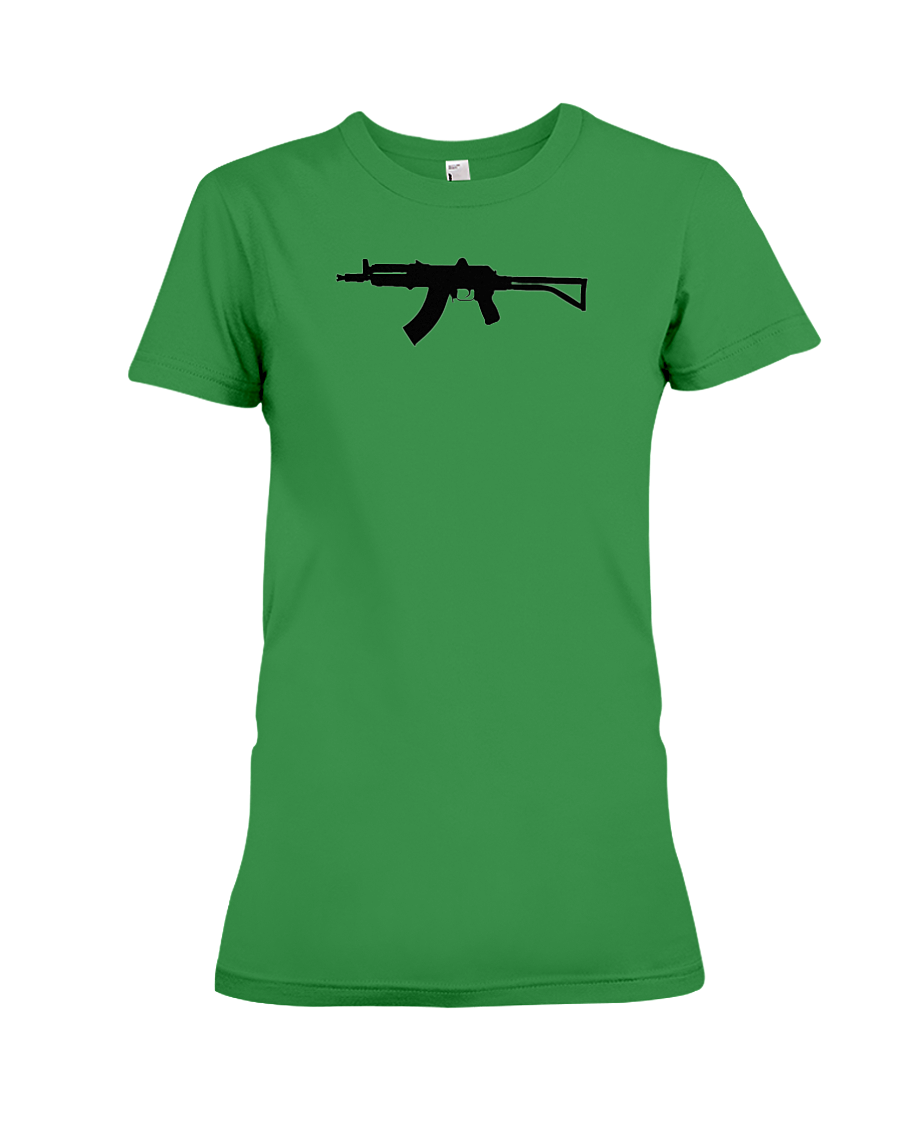 AK Black Rifle women's t-shirt green