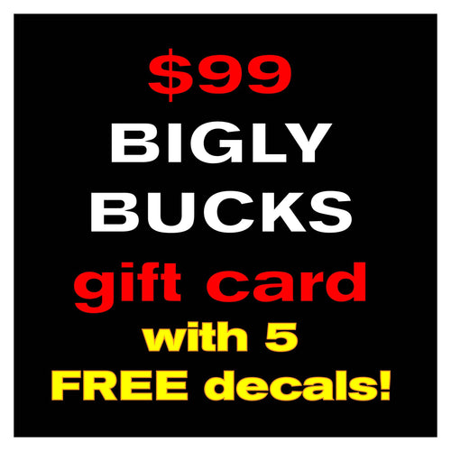 $99 Gift Card & 5 FREE decals!
