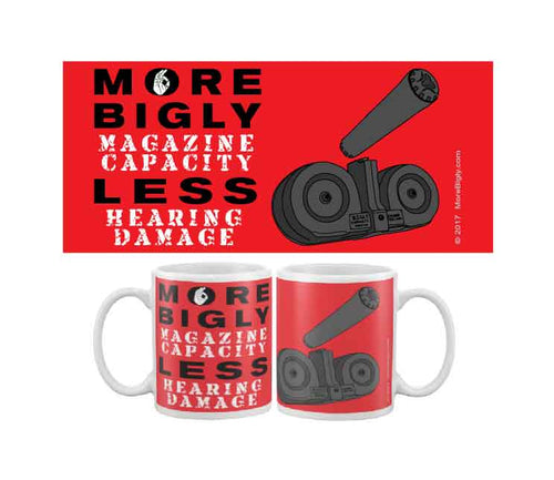 MORE BIGLY Magazine Capacity HPA coffee mug